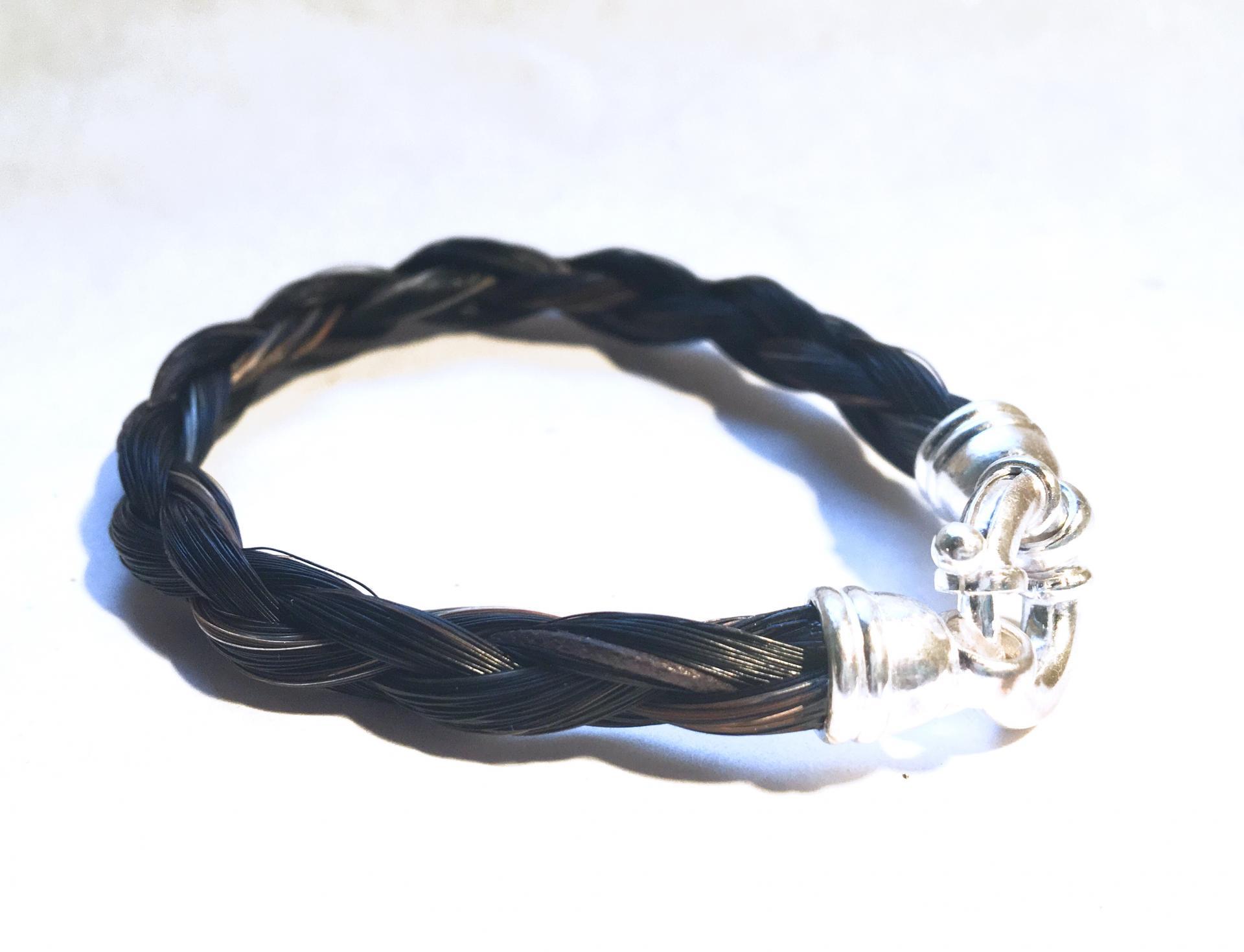 Bracelet fermoir bouée en argent 925