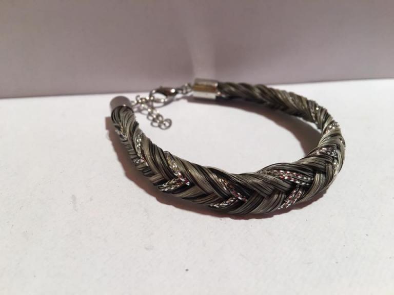 Bracelet fils argent