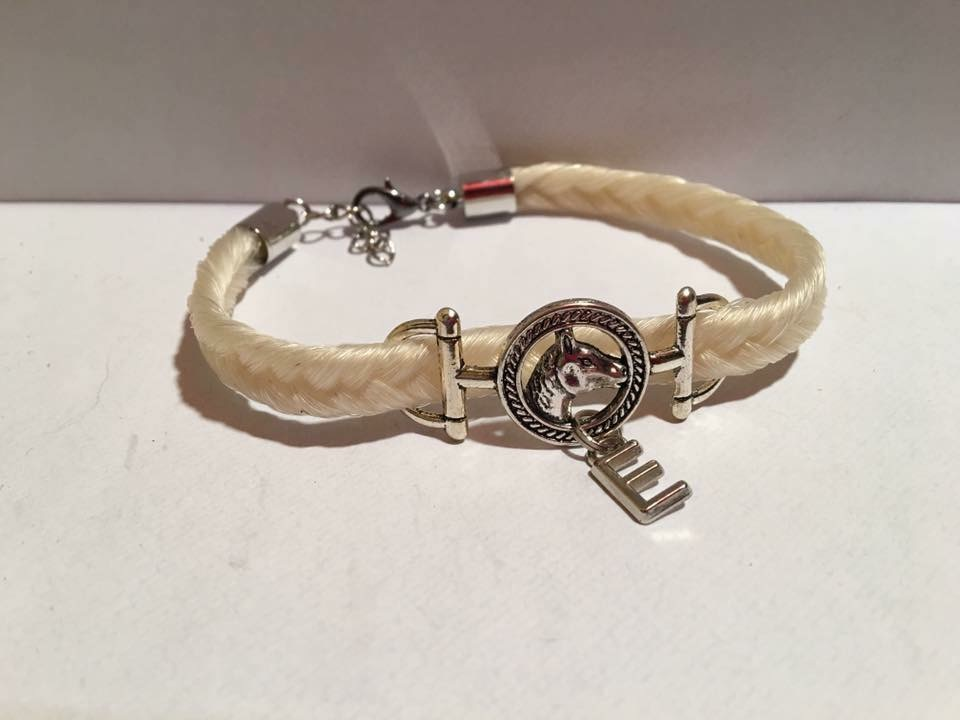 Bracelet connecteur tête de cheval