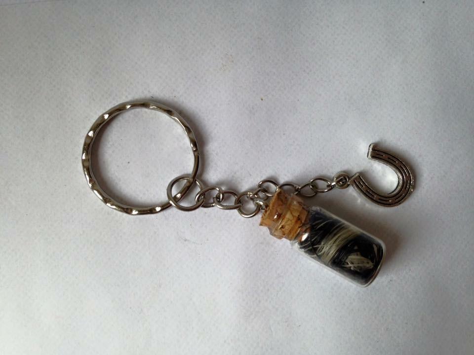 Fiole - porte clef