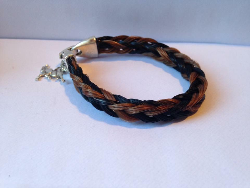 Bracelet tressage carré