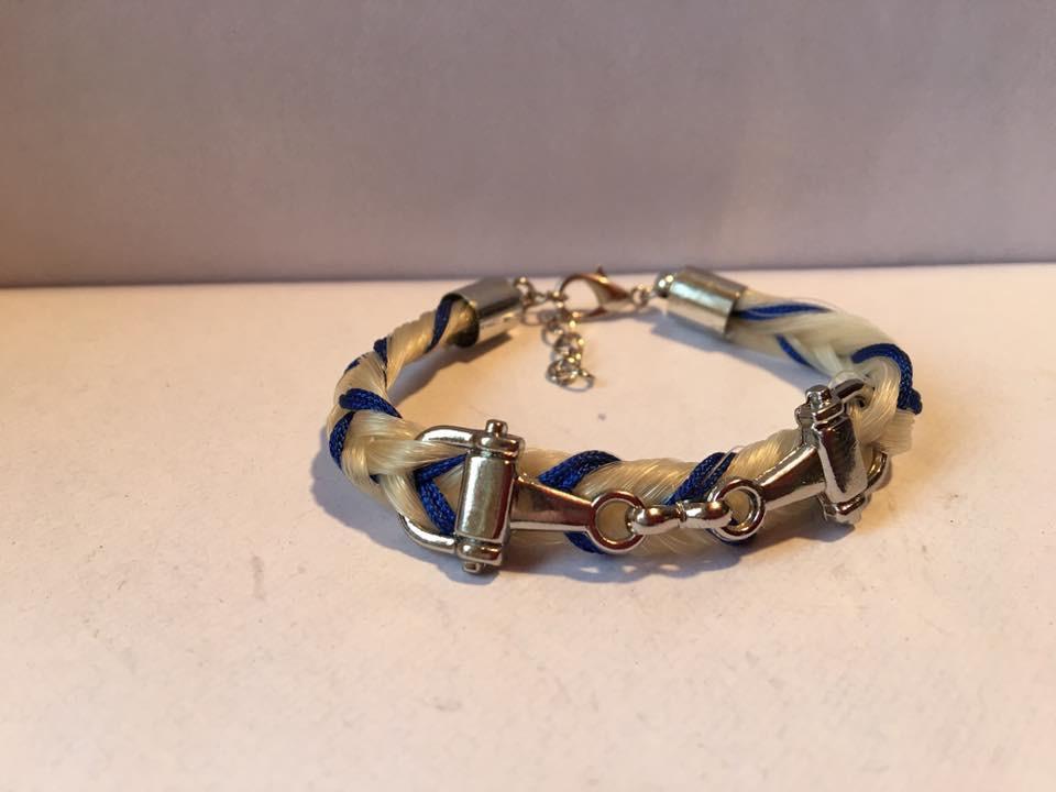 Bracelet connecteur mors à cheval