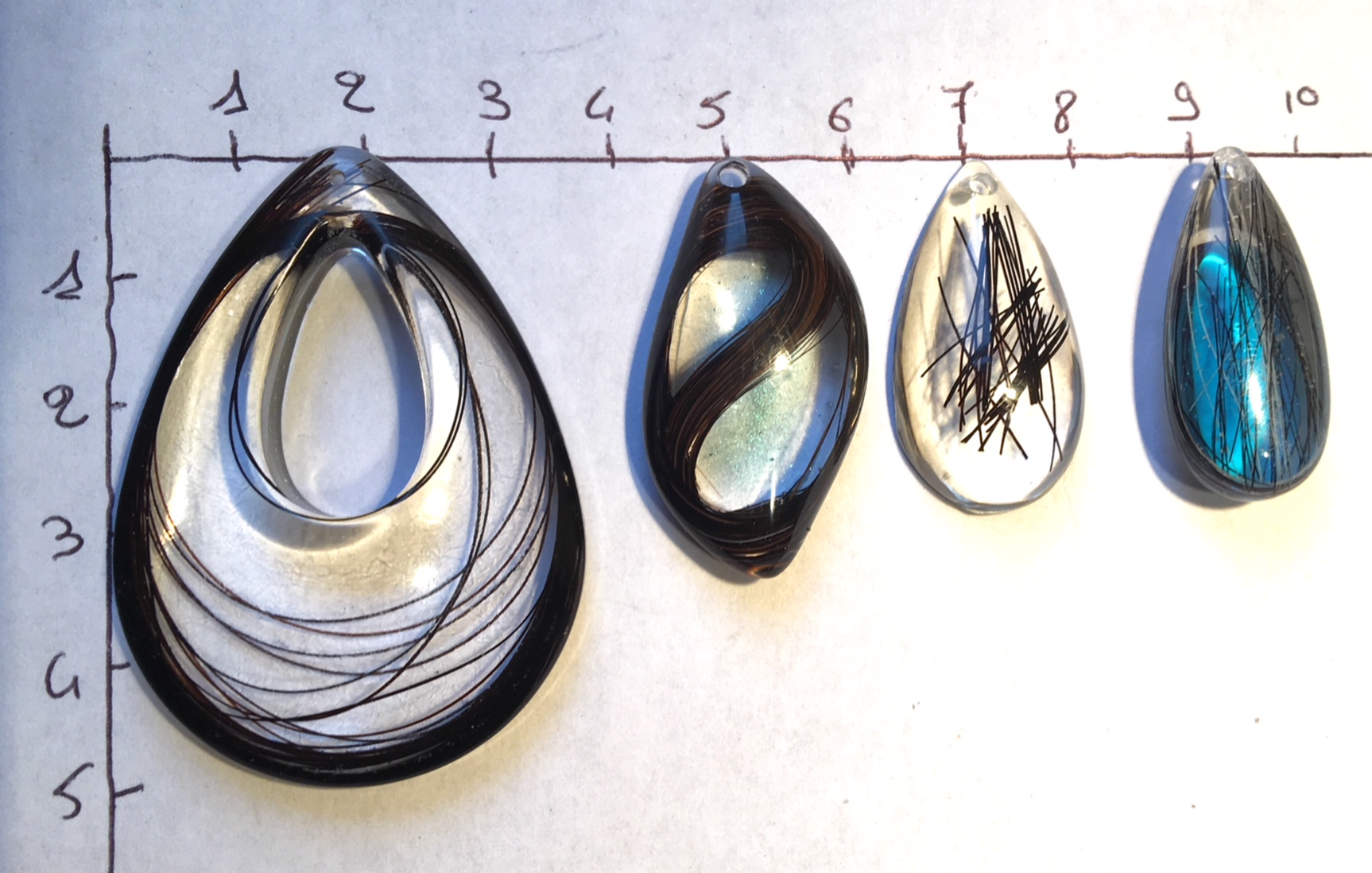 Creation crins cheval bijoux immortel pendentif taille cm comparatif